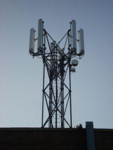 Magherafelt Telephone Exchange Stub Tower Roof Top